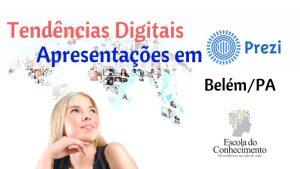 Marketing Digital e Apresentações com Prezi em Belém