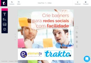Trakto – Criação de material de marketing online