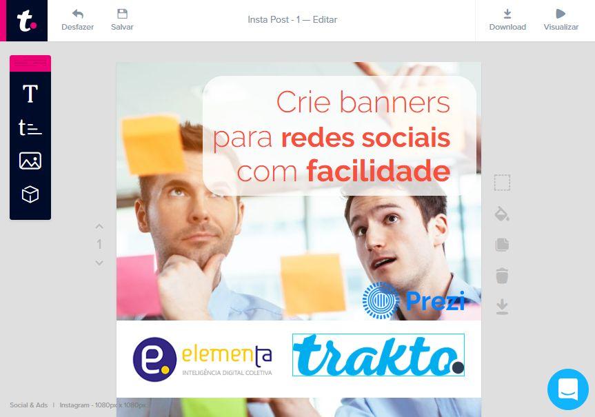 You are currently viewing Trakto – Criação de material de marketing online
