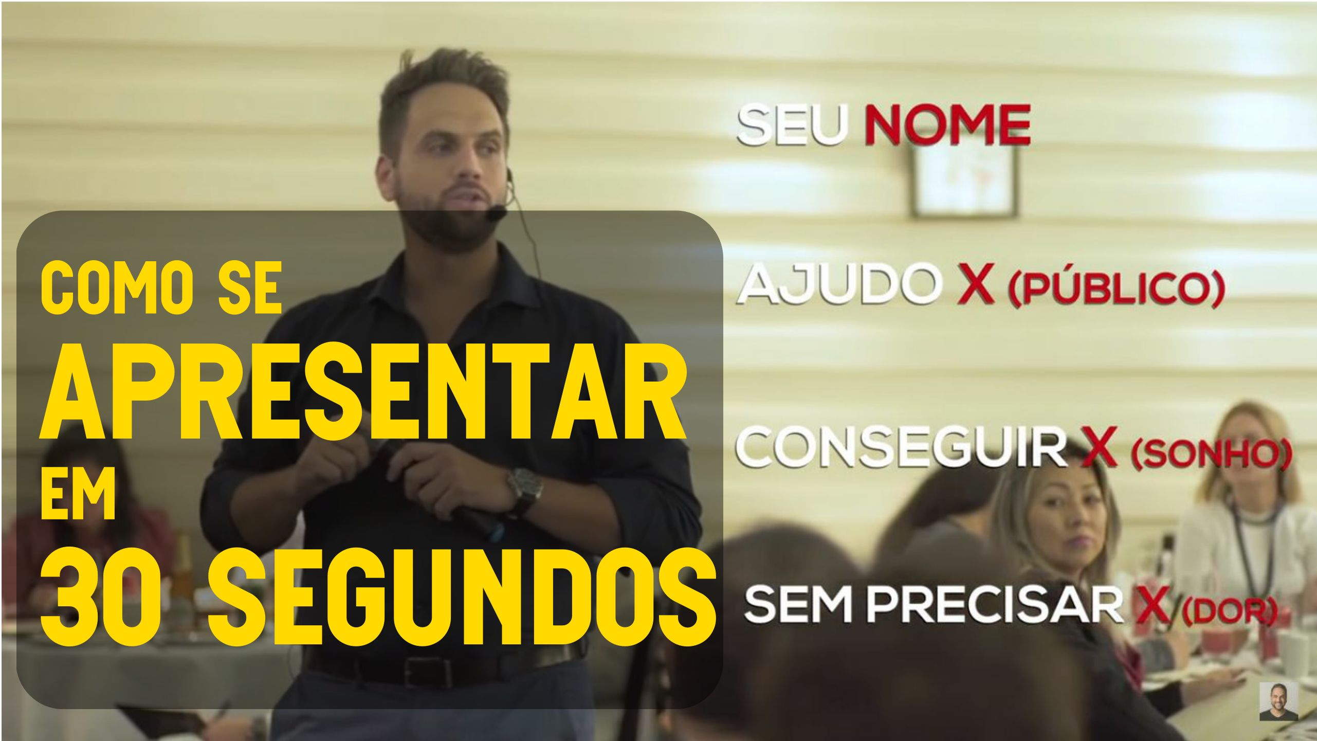 You are currently viewing Como se apresentar em 30 Segundos