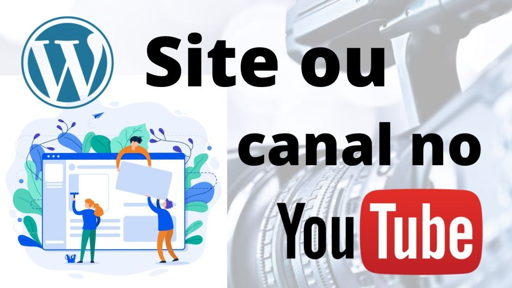 Site vs Canal no YouTube