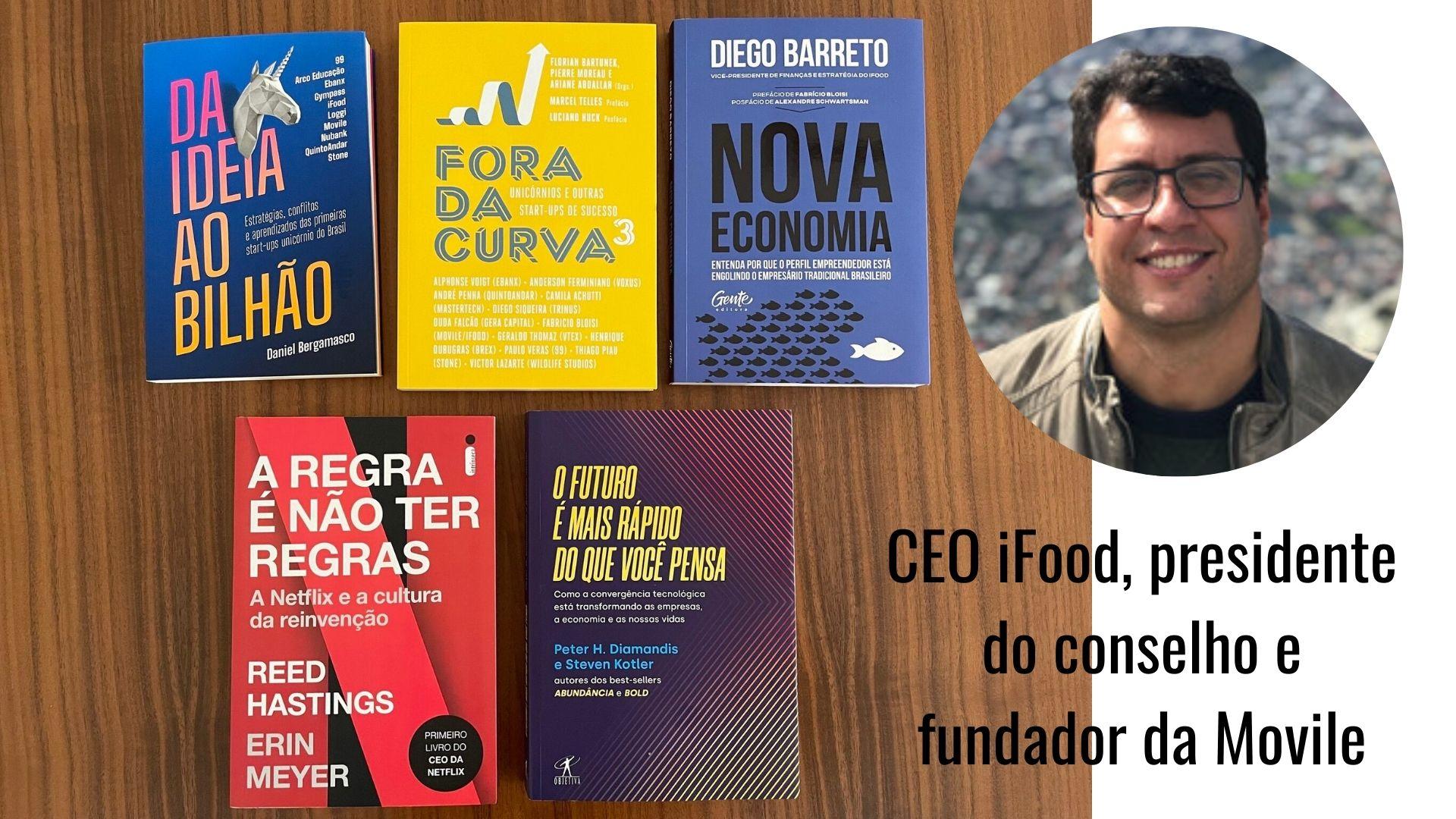 You are currently viewing 5 Livros para Startups e Inovadores – Fabricio Bloisi
