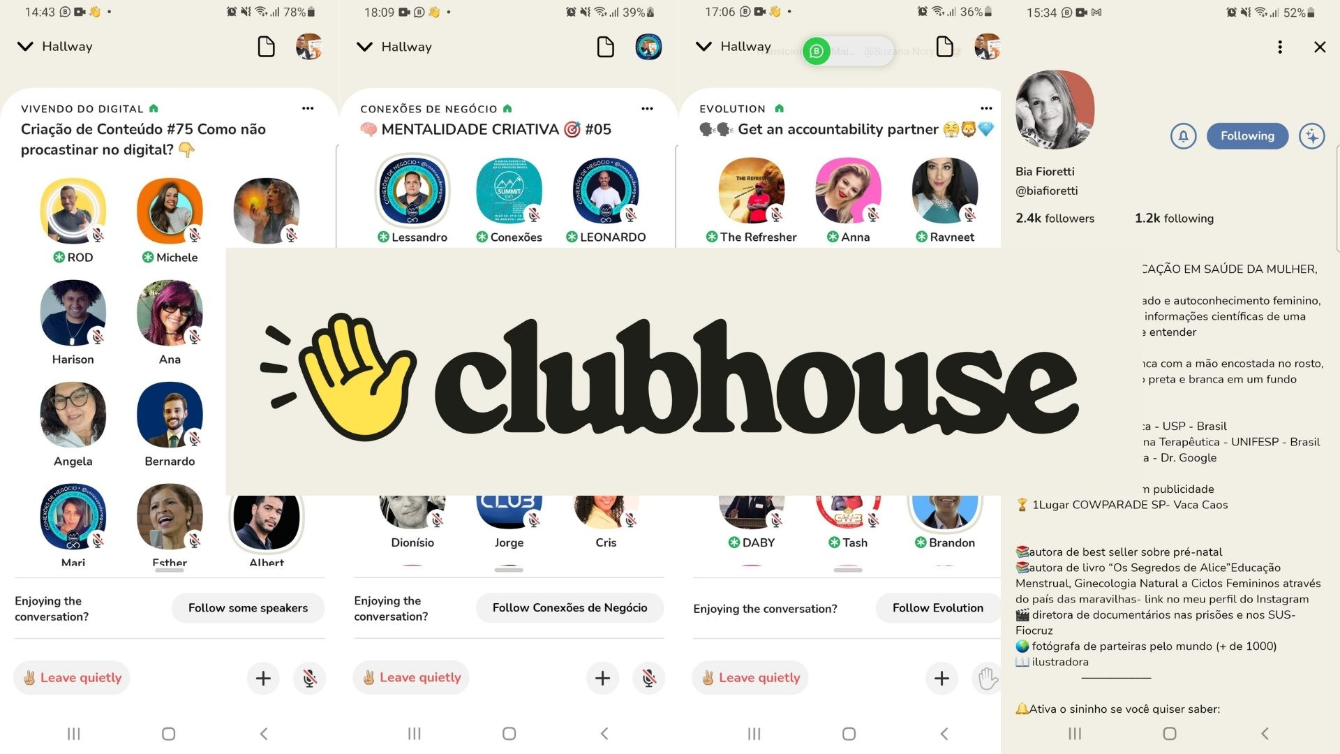 You are currently viewing Clubhouse – Rede Social de Voz – Razões para participar